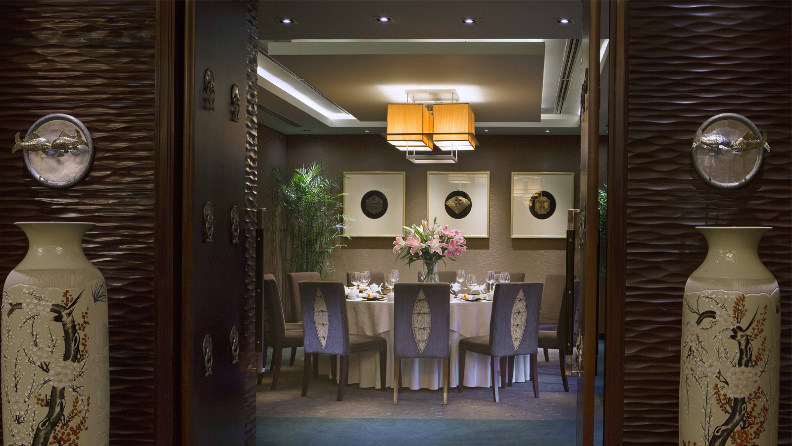 Li Bai Chinese restaurant - private room - Sheraton Saigon Hotel & Towers